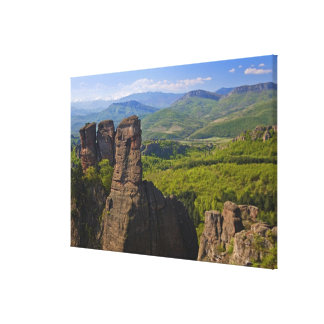 A walk throught Belogradchik Castle Ruins Canvas Print