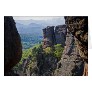 A walk throught Belogradchik Castle Ruins Card