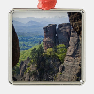 A walk throught Belogradchik Castle Ruins Christmas Ornament