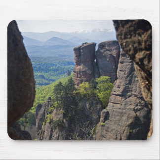 A walk throught Belogradchik Castle Ruins Mouse Mat