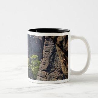 A walk throught Belogradchik Castle Ruins Two-Tone Coffee Mug