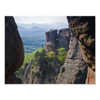 A walk throught Belogradchik Castle Ruins Photo Print