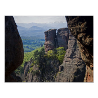 A walk throught Belogradchik Castle Ruins Poster