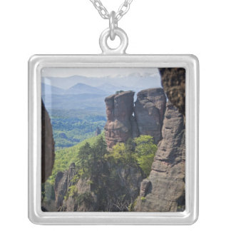 A walk throught Belogradchik Castle Ruins Silver Plated Necklace