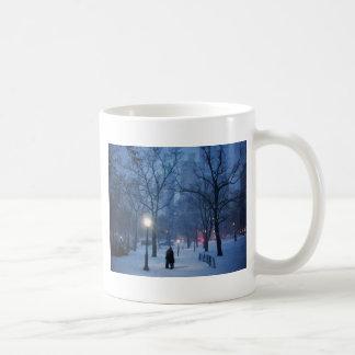 A Warm Kiss On A Cold Night Coffee Mug