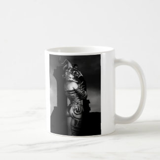 A Warrior Stands Alone Basic White Mug