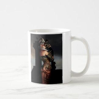 A Warrior Stands Alone Basic White Mug