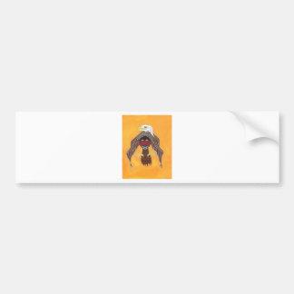 A Warriors Vision Bumper Sticker
