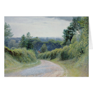 A Warwickshire Lane Card