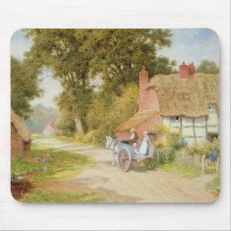 A Warwickshire Lane Mouse Pad