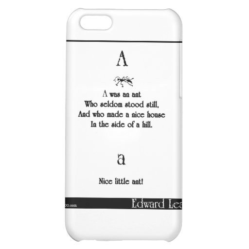 A was an ant iPhone 5C case