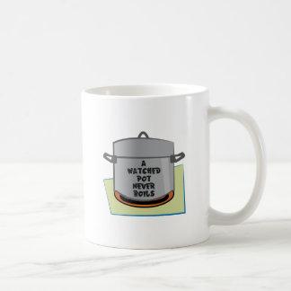 A Watched Pot Coffee Mugs