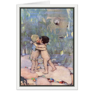 A Water Baby by Jessie Willcox Smith Card