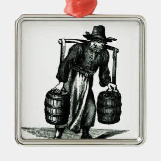 A Water Carrier Christmas Ornament