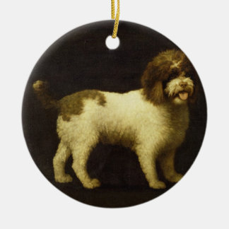 A Water Spaniel, 1769 (oil on canvas) Christmas Ornament
