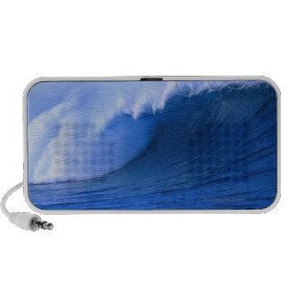a wave crashing laptop speaker