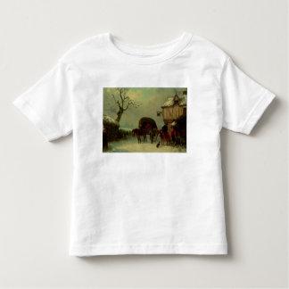 A Wayside Rest - Stopping at the Inn Toddler T-Shirt