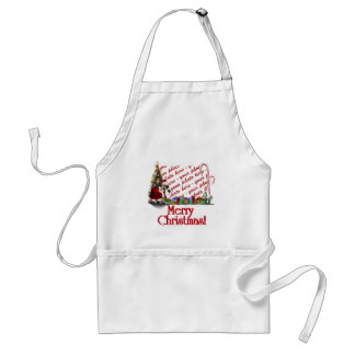A Web Footed Christmas Standard Apron