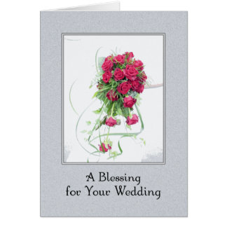 A Wedding Blessing Card