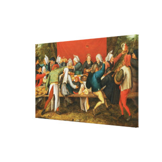 A Wedding Feast Canvas Print