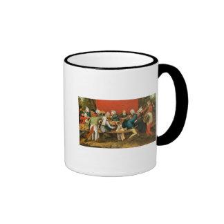 A Wedding Feast Ringer Coffee Mug