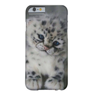 A Week-Old Snow Leopard Kit Barely There iPhone 6 Case