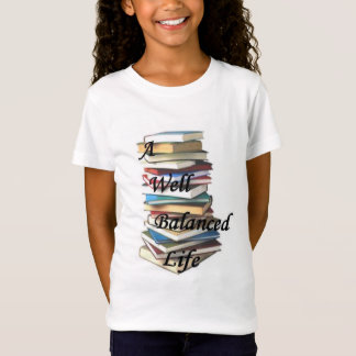 A Well Balanced Life Book T-Shirt