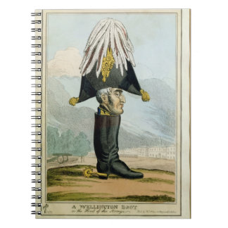 A Wellington Boot - or the Head of the Armye, Notebook