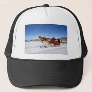 A Western Christmas - Horse Christmas Sleigh Cap