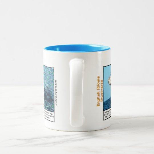 A whale of a time Two-Tone coffee mug