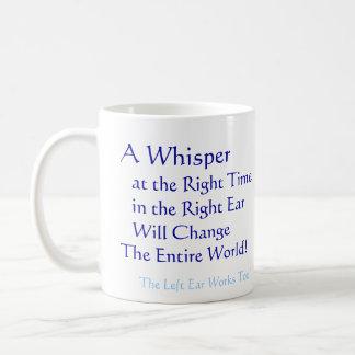 A Whisper Basic White Mug