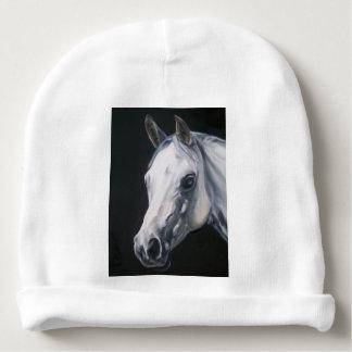 A White Horse Baby Beanie