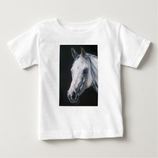 A White Horse Baby T-Shirt