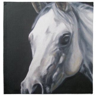 A White Horse Napkin