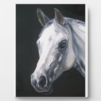 A White Horse Plaque