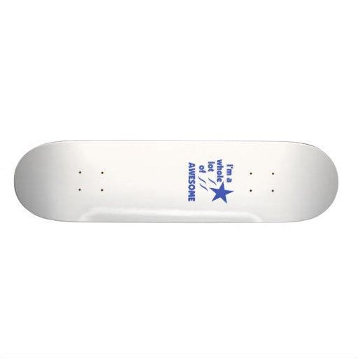 A Whole Lot of Awesome Custom Skateboard