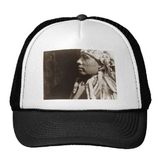 A Wichita Native North American Indian man Hat