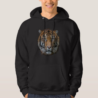 A wild Bengal Tiger face Hoodie