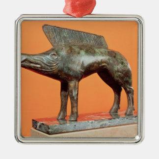 A wild boar, from Neuvy-en-Sullias Christmas Ornament