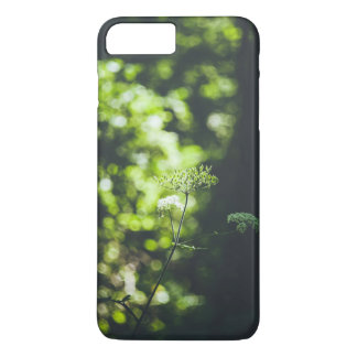 A wild flower in the green nature iPhone 8 plus/7 plus case