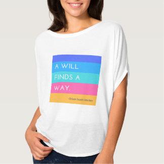 A Will Finds a Way Shirt