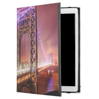 """A windy and rainy evening view from Fort Lee iPad Pro 12.9"""" Case"""