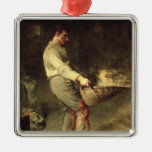A Winnower, 1866-68 Christmas Ornaments