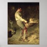 A Winnower, 1866-68 Poster