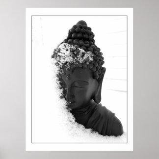A Winter Buddha Poster