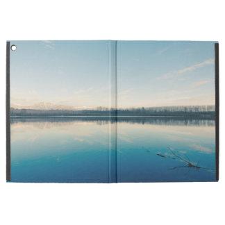 "A winter lake iPad pro 12.9"" case"