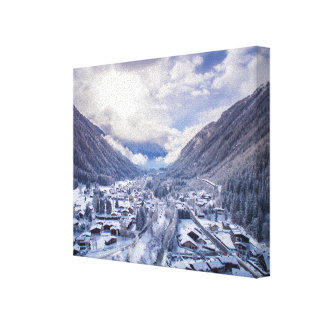 A Winter Wonderland Canvas Print