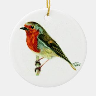 """A Winters Friend"" - Hanging plaque artwork & poem Christmas Ornament"