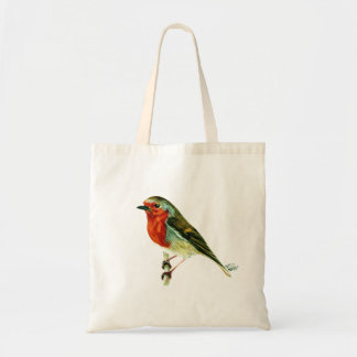 """A Winters Friend"" Tote Bag"
