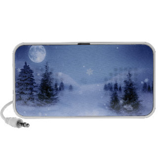 A Winter's Night Notebook Speakers